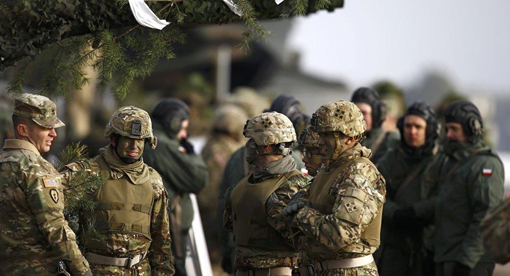 Las fuerzas de la OTAN en Europa