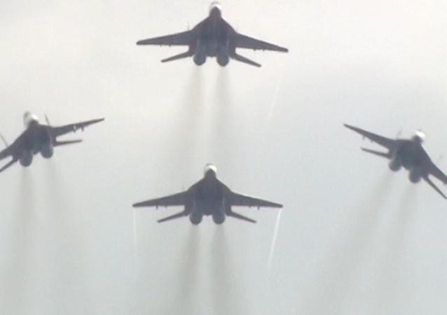 El Su-57 y el MiG-29, a prueba en el foro militar Army 2018