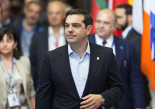Alexis Tsipras, el primer ministro griego