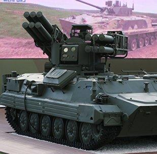 El sistema de misiles antiaéreos Sosna en el Foro Militar e Internacional Army 2018