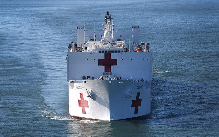 Constituyente: el buque hospital es una estrategia de EEUU para invadir Venezuela
