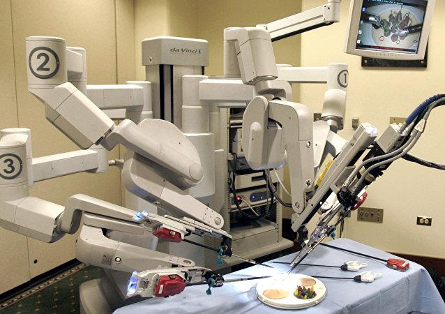 El sistema robotizado Da Vinci (archivo)