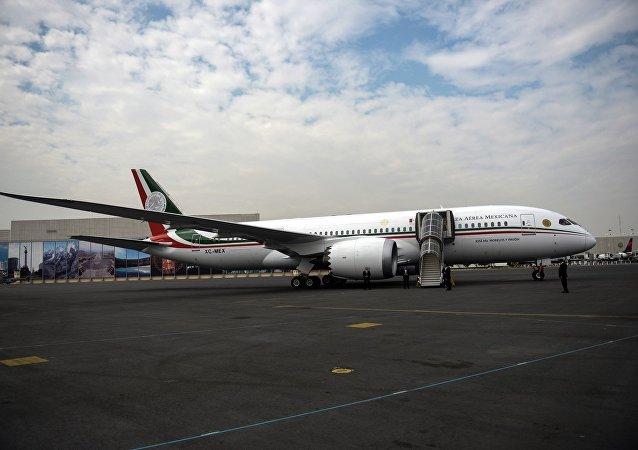 El avión presidencial mexicano José María Morelos y Pavón