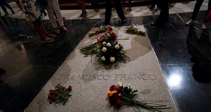 Tumba del dictador español, Francisco Franco