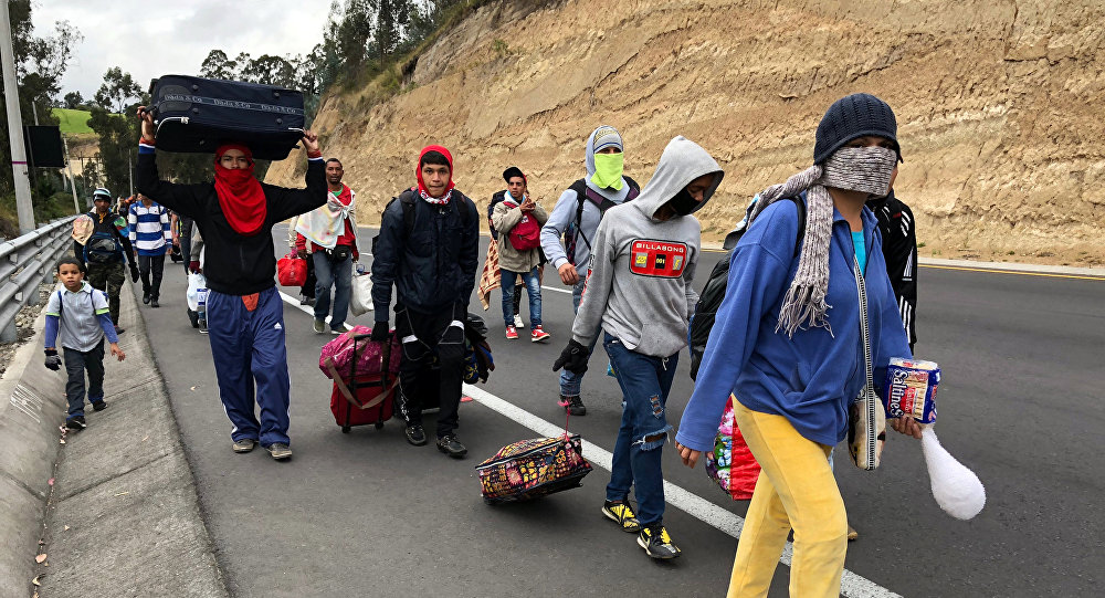 Los migrantes venezolanos