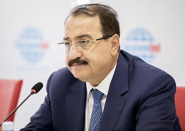 Riad Haddad, el embajador sirio en Rusia