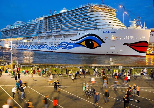 El crucero AIDAnova