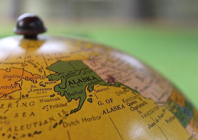 El mapa de Alaska