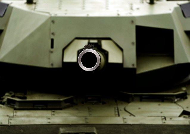 Tanque Armata T-14 durante el foro Army-2018