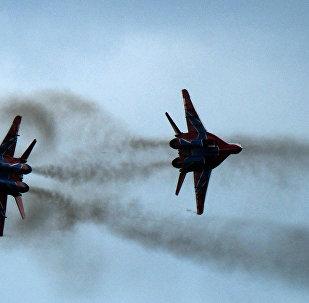 Cazas rusos MiG-29