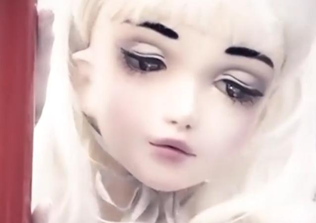 Lulú Hashimoto, una 'muñeca viviente'
