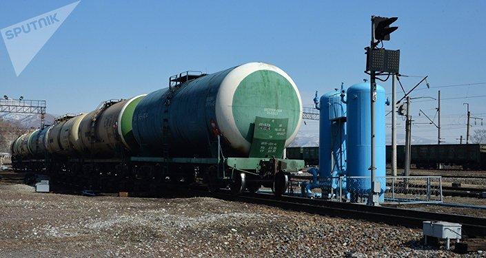 Vagones de un tren de carga (imagen referencial)