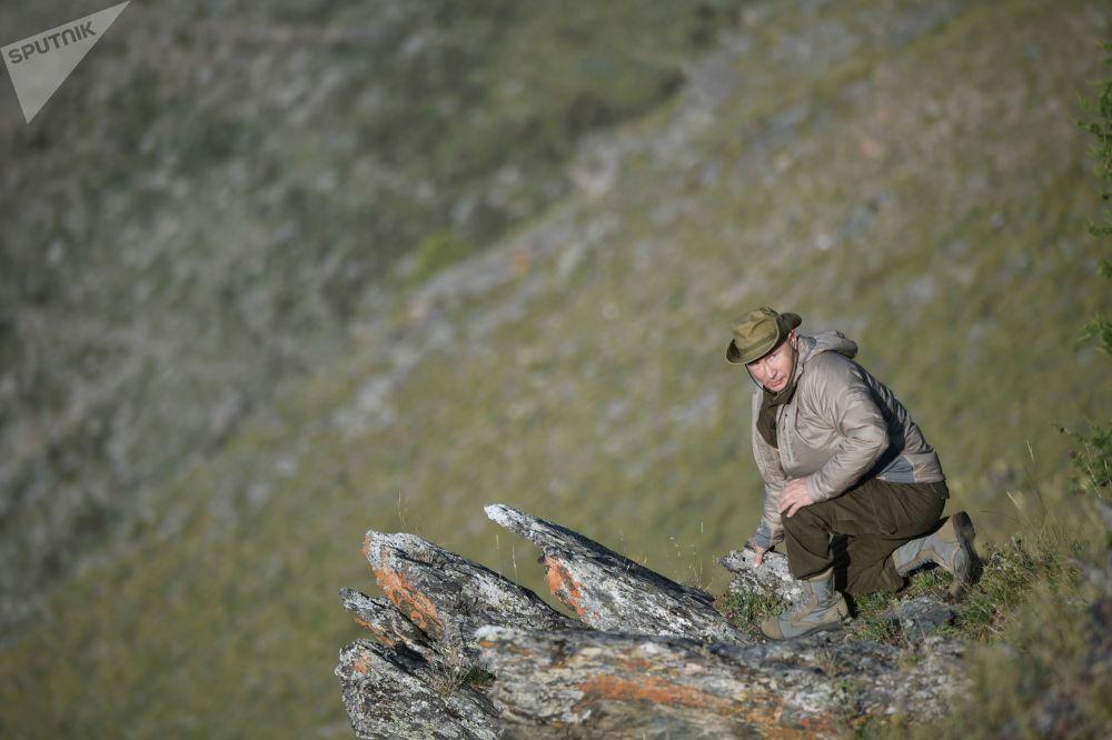 Vacaciones 'salvajes': Vladímir Putin pasa el fin de semana en Siberia
