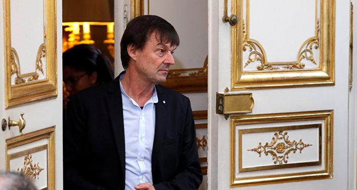 Nicolas Hulot, ministro de la Transición Ecológica, Francia