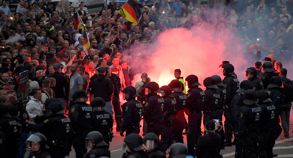 Disturbios en Chemnitz, Alemania