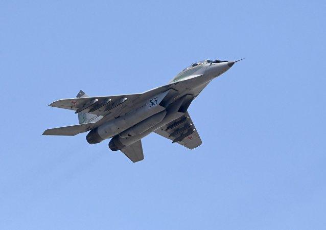 El caza ruso MiG-29SMT