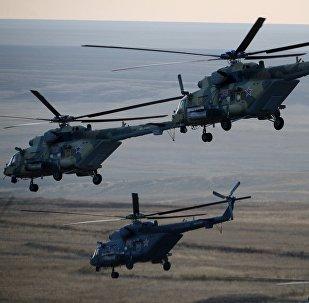 Helicópteros Mi-8MTV (archivo)