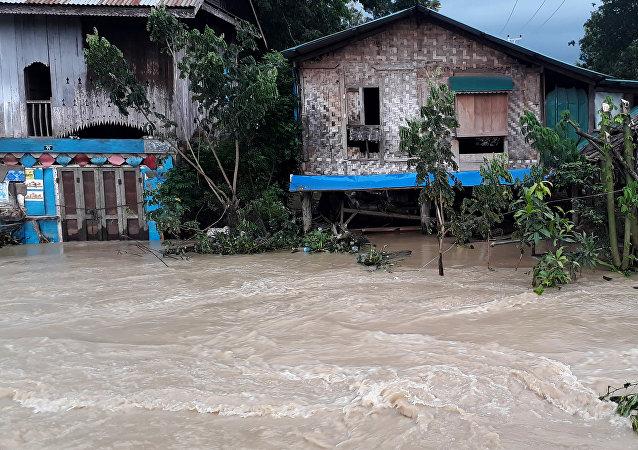 Más de 63.000 personas afectadas por el colapso de una presa en Birmania