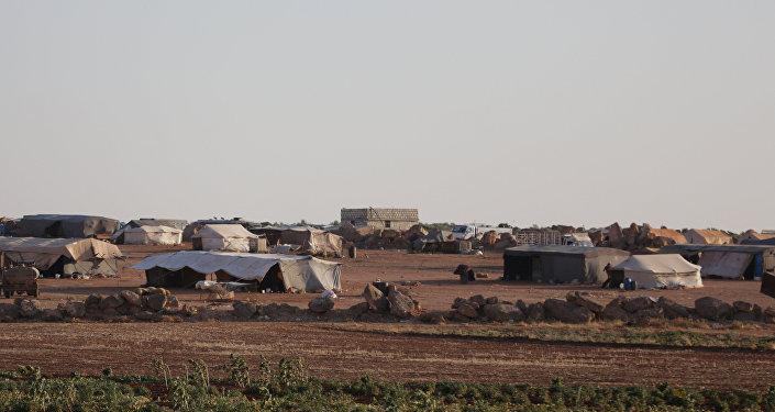 Un campo de refugiados en Siria (archivo)
