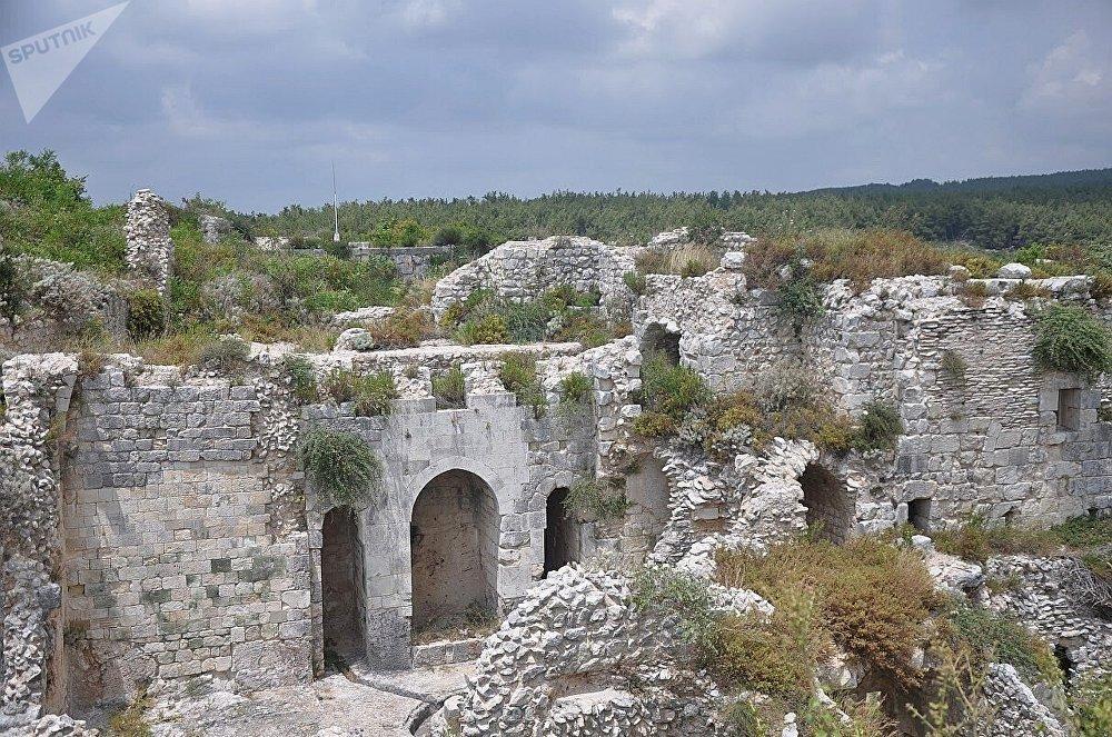 La fortaleza de Saladino cerca de Latakia.