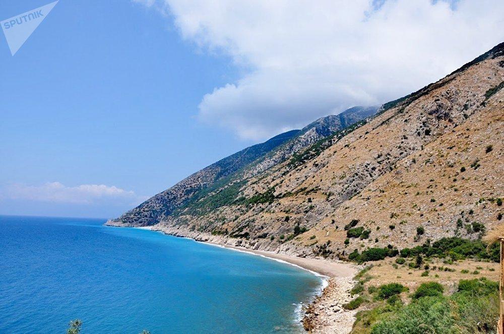 La costa mediterránea de Siria.