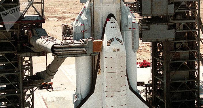 La nave espacial Buran (archivo)
