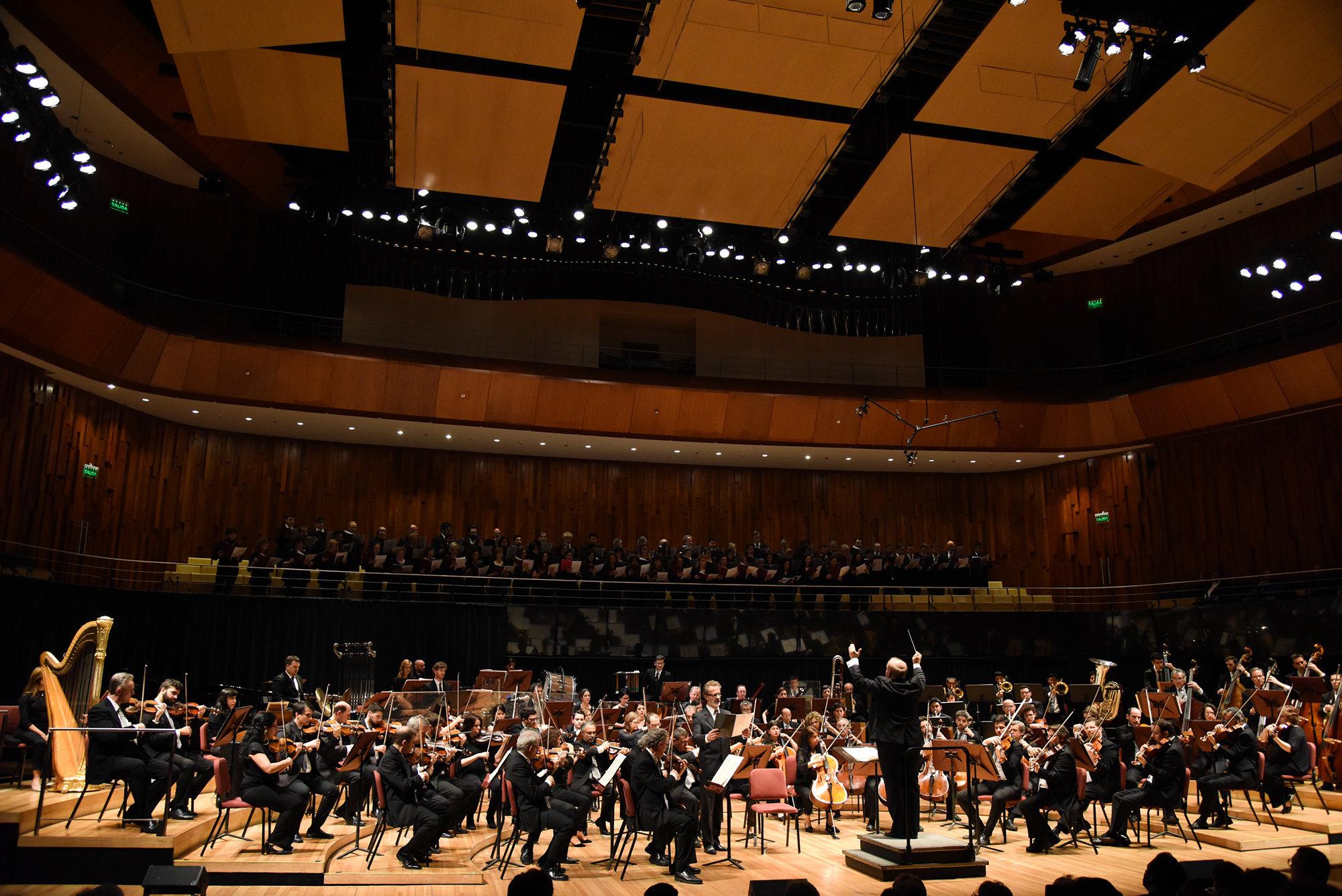 Concierto del 29 de agosto en el CCK. Orquesta Sínfónica de Argentina