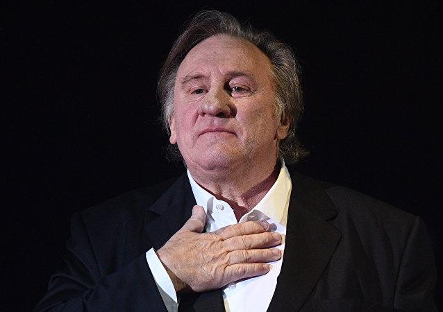 Gérard Depardieu, actor francés