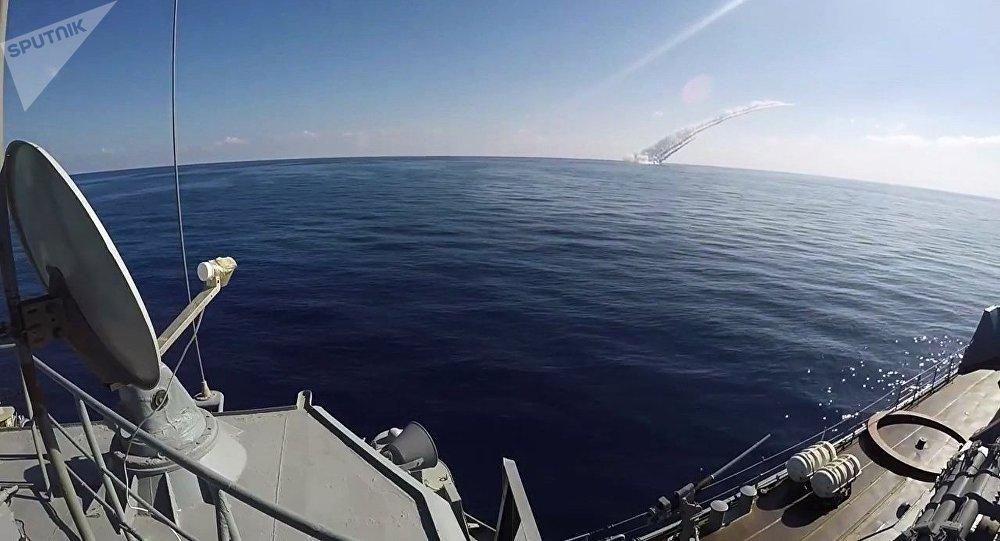 Submarinos de la Flota del Mar Negro lanzan disparos desde el mar Mediterráneo contra terroristas en territorio sirio (archivo)