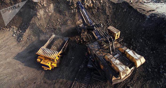 La extracción de carbón en Rusia
