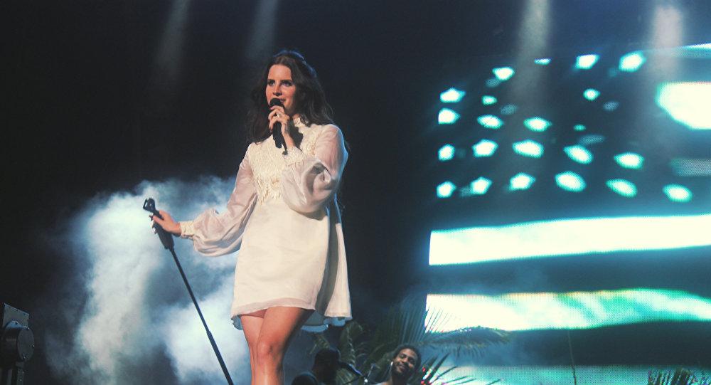 Lana Del Rey, famosa cantante estadounidense