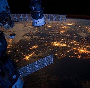 El planeta Tierra visto desde la Estación Espacial Internacional
