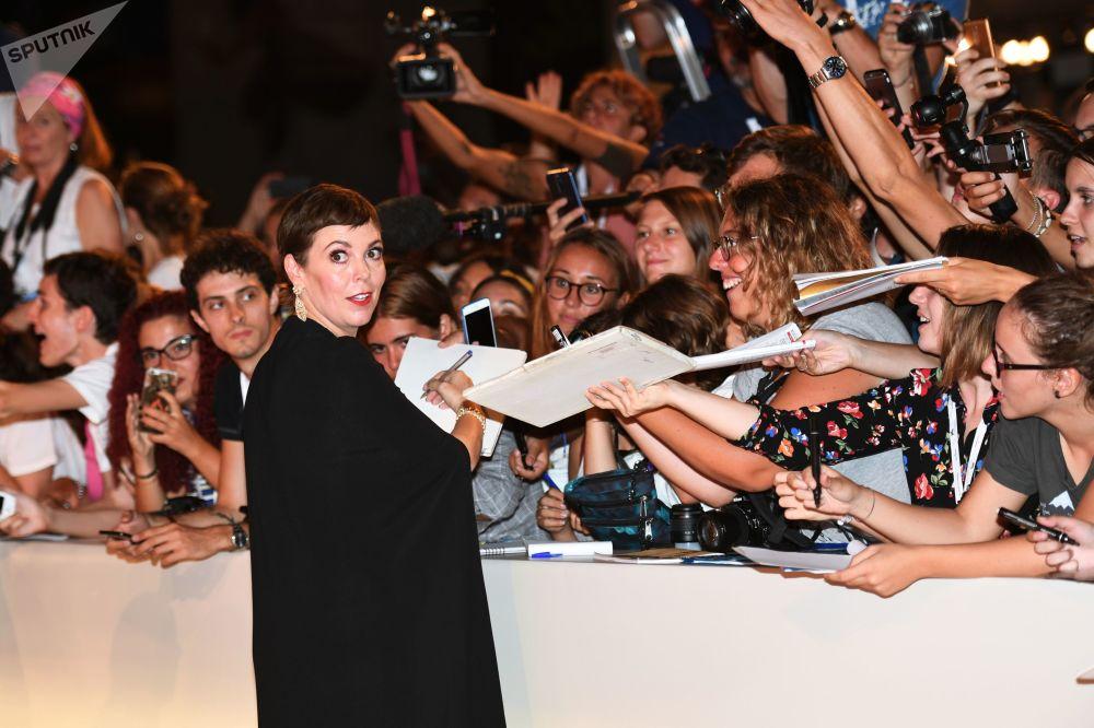 Los atuendos más extravagantes de la alfombra roja del Festival de Cine de Venecia