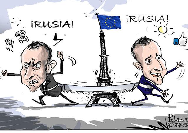 Macron, el contradictorio