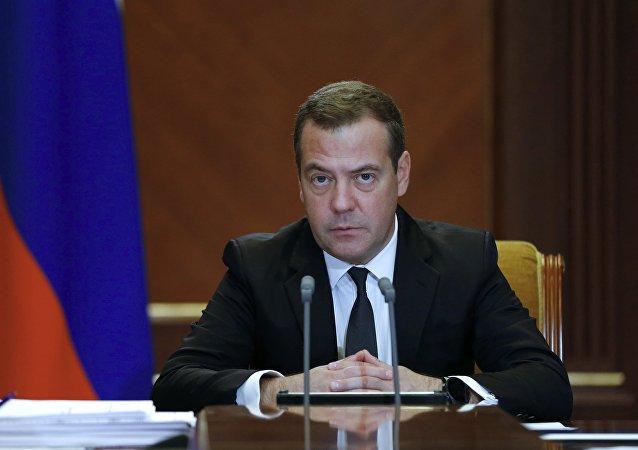 El primer ministro ruso, Dmitri Medvédev (archivo)