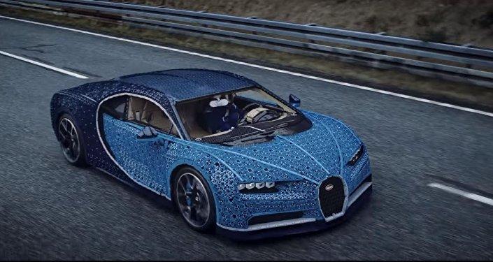 Bugatti de Lego