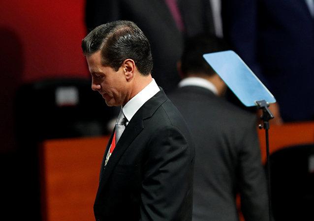 Enrique Peña Nieto, presidente saliente de México
