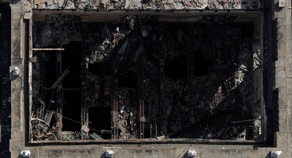 Incendio arrasa con el Museo Nacional de Río de Janeiro — Impactantes imágenes