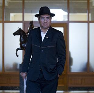 Diego Pary, canciller de Bolivia