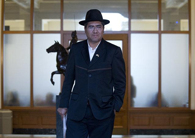 Diego Pary, el canciller de Bolivia