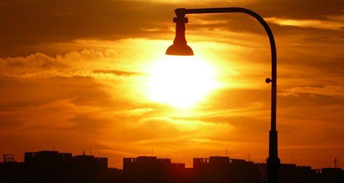 La luz solar