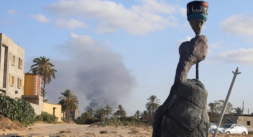 Situación en Trípoli, capital de Libia
