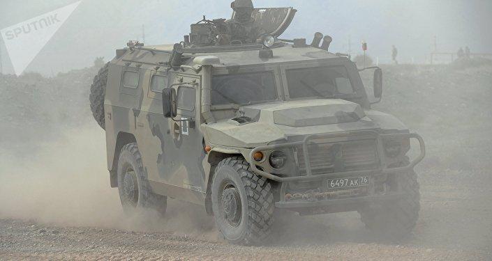 Todoterreno militar ruso Tigr (archivo)