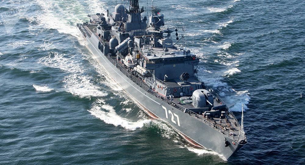 La fragata rusa Yaroslav Mudri (archivo)