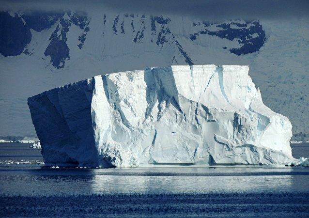 Un iceberg (imagen referencial)
