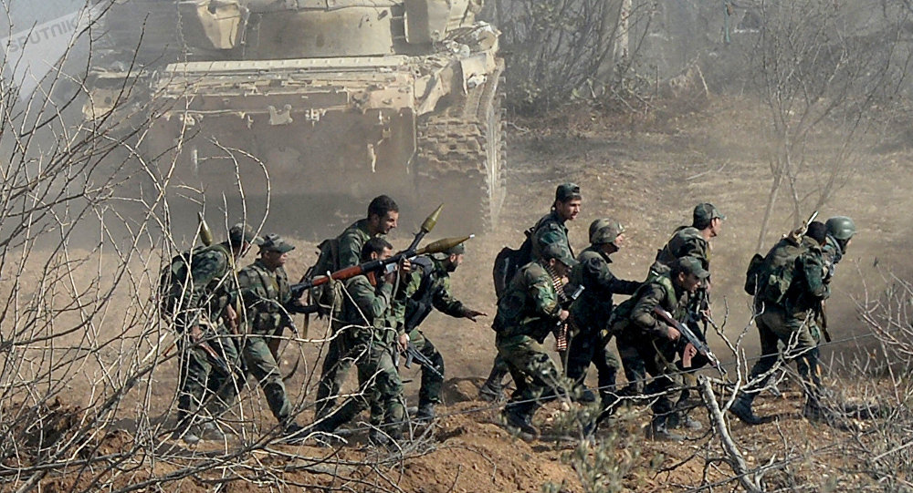 Soldados del Ejército sirio (imagen referencial)