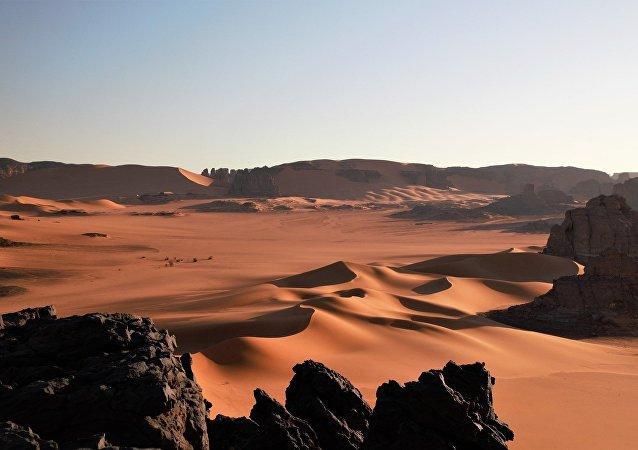 El desierto del Sahara (imagen ilustrativa)