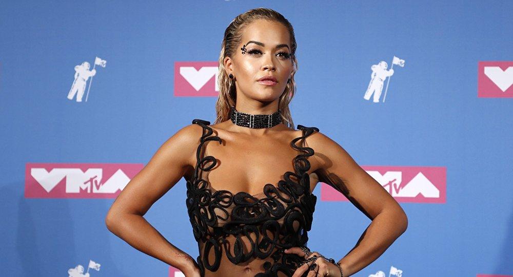 La cantante británica Rita Ora