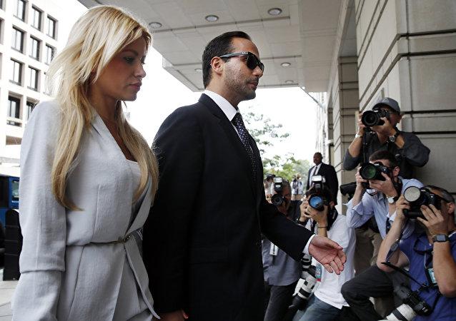 George Papadopoulos, exasesor de campaña de Donald Trump