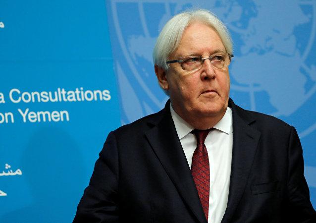 Martin Griffiths, enviado especial de la ONU para Yemen